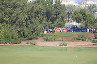 Hideto Tanihara (JPN) on the 14th tee during the final round of the DP World Tour Championship, Jumeirah Golf Estates, Dubai, United Arab Emirates. 18/11/2018<br /> Picture: Golffile | Fran Caffrey<br /> <br /> <br /> All photo usage must carry mandatory copyright credit (© Golffile | Fran Caffrey)