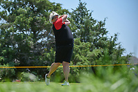 Laura Davies (ENG) watches her tee shot on 3 during round 2 of  the Volunteers of America LPGA Texas Classic, at the Old American Golf Club in The Colony, Texas, USA. 5/6/2018.<br /> Picture: Golffile | Ken Murray<br /> <br /> <br /> All photo usage must carry mandatory copyright credit (&copy; Golffile | Ken Murray)