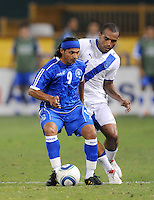 El Salvador forward Rudy Corrales (9)  The Guatemalan National Team defeated  El Salvador National Team 2-0 in a friendly international at RFK Stadium, Saturday September 7, 2010.