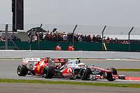 SILVERSTONE, INGLATERRA, 08 JULHO 2012 - FORMULA 1 - GP DE SILVERSTONE -  O piloto ingles Lewis Hamilton da equipe McLaren, durante o Grande Premio de Silverstone em Silverstone na Inglaterra neste domingo, 08. (FOTO: PIXATHLON / BRAZIL PHOTO PRESS).