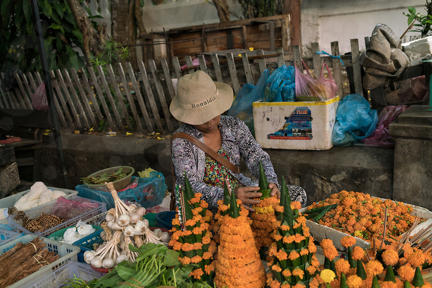 May 07, 2017 - Luang Prabang (Laos). Morning local market in the streets of Luang Prabang. © Thomas Cristofoletti / Ruom