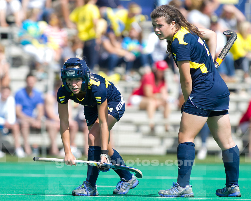 The University of Michigan women's field hockey team beat Fairfield, 5-0, at Ocker Field in Ann Arbor, Mich., on September 16, 2012.