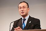 Shin Asakawa, MARCH 7, 2013 : ShinAsakawa, Chief Executive Officer, Japan Anti- Doping Agency  attends a Media briefing about presentations of Tokyo 2020 bid Committee in Tokyo, Japan. (Photo by Yusuke Nakanishi/AFLO SPORT).