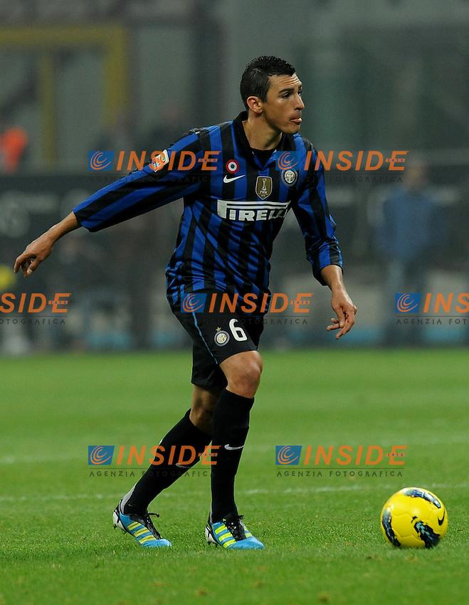 "LUCIO (Inter).Milano 29/10/2011 Stadio ""Giuseppe Meazza"".Serie A 2011/2012.Football Calcio Inter Vs Juventus.Foto Insidefoto Alessandro Sabattini."