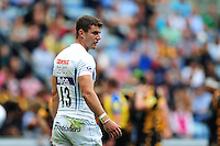 Ollie Devoto of Exeter Chiefs looks on during a break in play. Aviva Premiership match, between Wasps and Exeter Chiefs on September 4, 2016 at the Ricoh Arena in Coventry, England. Photo by: Patrick Khachfe / JMP