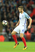 5th October 2017, Wembley Stadium, London, England; FIFA World Cup Qualification, England versus Slovenia; Eric Dier of England