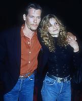 Kevin Bacon, Kyra Sedgwick, 1992, Photo By Michael Ferguson/PHOTOlink