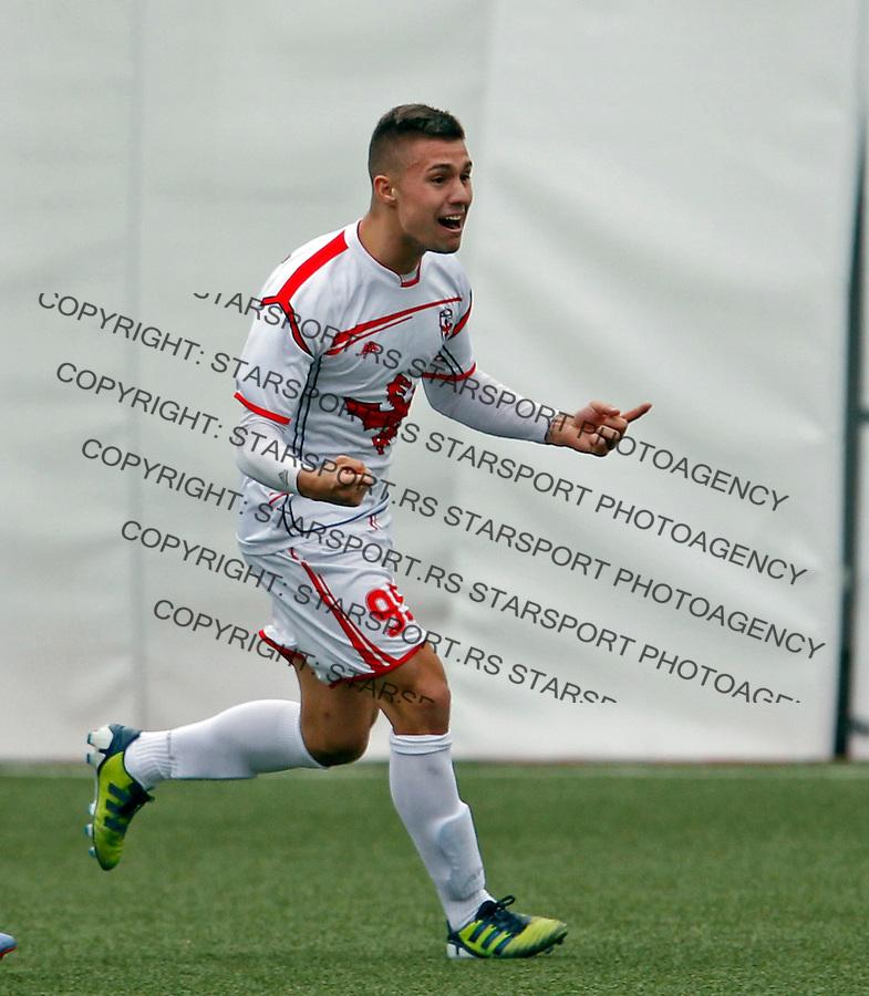 Nikola Karaklajic Jelen Superliga, Vozdovac - Javor  (credit image & photo: Pedja Milosavljevic / STARSPORT / +318 64 1260 959 / thepedja@gmail.com)
