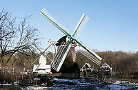 Nederland - Arnhem  - 17 december 2017. Molen in het Nederlands Openluchtmuseum.   Foto Berlinda van Dam / Hollandse Hoogte.