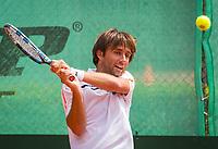 The Hague, Netherlands, 11 June, 2017, Tennis, Play-Offs Competition, Niels Desein , Leimonias<br /> Photo: Henk Koster/tennisimages.com