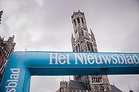 race start in the Central Square in Bruges<br /> <br /> Driedaagse Brugge-De Panne 2018<br /> Bruges - De Panne (202km)