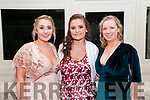 North Kerry Harriers Ball: attending the North Kerry Harriers Hunt Ball at the Listowel Arms Hotel on Saturday night last were Anne Marie Curtin,  Courtney Neil & Noelle Kirby.