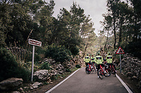 468m<br /> <br /> Team Trek-Segafredo men's team<br /> training camp<br /> Mallorca, january 2019<br /> <br /> &copy;kramon