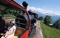 Schweiz, Brienzer Rothorn-Bahn im Berner Oberland