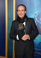 Alexandre Desplat at the Los Angeles premiere of &quot;The Shape of Water&quot; at the Academy of Motion Picture Arts &amp; Sciences, Beverly Hills, USA 15 Nov. 2017<br /> Picture: Paul Smith/Featureflash/SilverHub 0208 004 5359 sales@silverhubmedia.com
