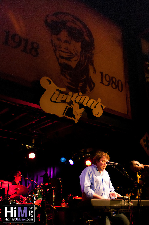DJ Davis and his krewe rock Tipitinas for a free Friday concert in New Orleans.