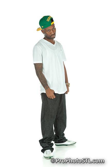 Rapper Smith One promo shots
