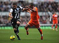 2011 12 17 Premiership, Newcastle United FC v Swansea City, St James' Park, Newcastle Upon Tyne, UK