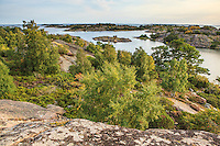 Hög utsikt i ytterskärgården vid Söderö i Stockholms utkärgård.