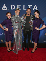 WEST HOLLYWOOD, CA - FEBRUARY 7: Evan Ross, Ashlee Simpson, Guests, at the Delta Air Line 2019 GRAMMY Party at Mondrian LA in West Hollywood, California on February 7, 2019. <br /> CAP/MPIFS<br /> &copy;MPIFS/Capital Pictures