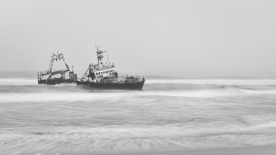 The Zeila Shipwreck On The Skeleton Coast.