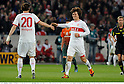 (L-R) Christian Gentner, Gotoku Sakai (Stuttgart), APRIL 13, 2012 - Football / Soccer : Bundesliga match between VfB Stuttgart 4-1 SV Werder Bremen at Mercedes-Benz Arena in Stuttgart, Germany. (Photo by Takamoto Tokuhara/AFLO)