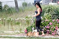 J WoWW pictured walking her dog during filming of The Jersey Shore Show season six in Seaside Heights, New Jersey on June 28, 2012 © Star Shooter / MediaPunchInc */NORTEPHOTO.COM*<br /> **SOLO*VENTA*EN*MEXICO** **CREDITO*OBLIGATORIO** *No*Venta*A*Terceros*<br /> *No*Sale*So*third* ***No*Se*Permite*Hacer Archivo***No*Sale*So*third*©Imagenes*con derechos*de*autor©todos*reservados*