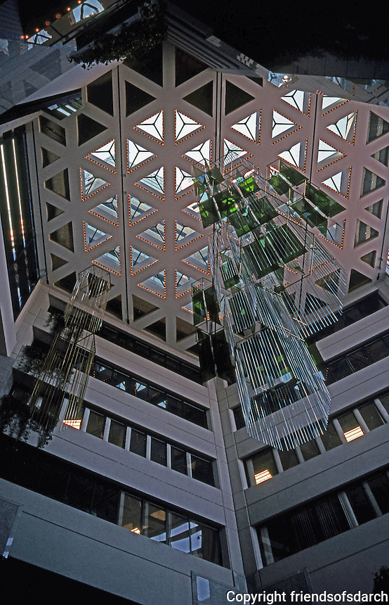 San Diego: Emerald Shapery Center--Atrium.  (Photo '92)