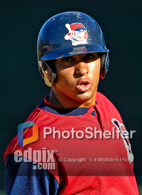1 September 2007:  Lowell Spinners infielder Ryan Dent warms up prior to facing the Vermont Lake Monsters at Historic Centennial Field in Burlington, Vermont. The Spinners defeated the Lake Monsters 4-0 in the first game of their 4-game series...Mandatory Photo Credit: Ed Wolfstein Photo