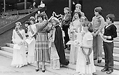 Crowning the Gala Queen, the Education Centre, Festival & Gala Day, Wester Hailes, Scotland, 1979.  John Walmsley was Photographer in Residence at the Education Centre for three weeks in 1979.  The Education Centre was, at the time, Scotland's largest purpose built community High School open all day every day for all ages from primary to adults.  The town of Wester Hailes, a few miles to the south west of Edinburgh, was built in the early 1970s mostly of blocks of flats and high rises.