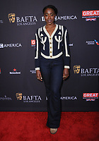 06 January 2018 - Beverly Hills, California - Kirby Howell-Baptiste. 2018 BAFTA Tea Party held at The Four Seasons Los Angeles at Beverly Hills in Beverly Hills.    <br /> CAP/ADM/BT<br /> &copy;BT/ADM/Capital Pictures