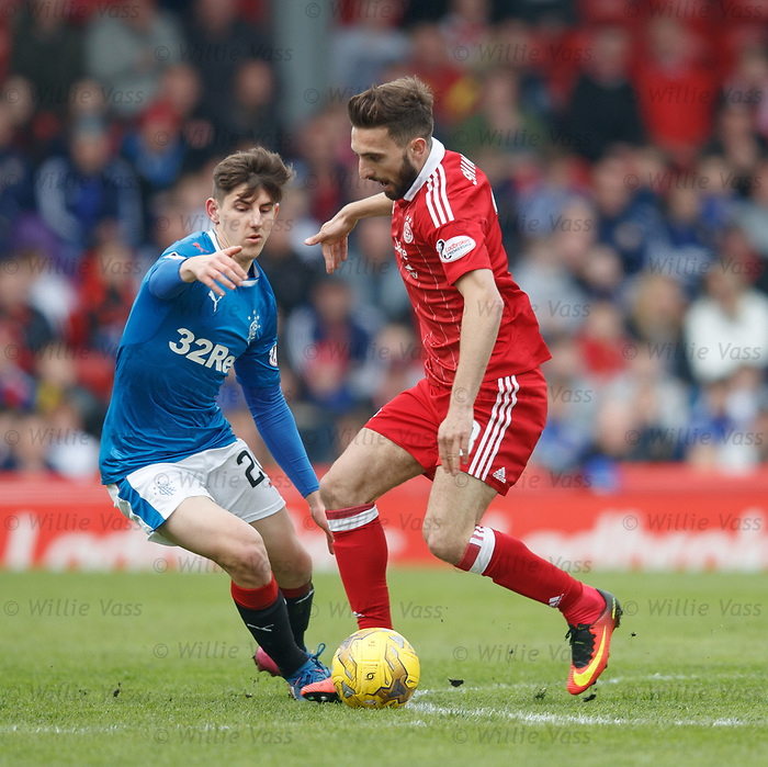 Emerson Hyndman and Graeme Shinnie