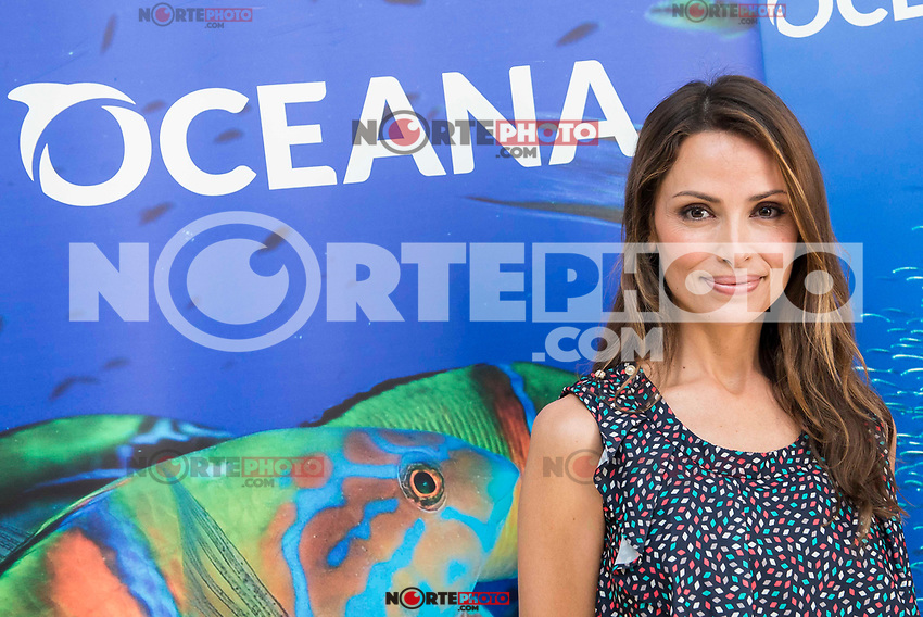 "Spanish model Almudena Fernandez during the presentation of the campaign ""#StopOverFishing"" of Oceana at Oceana headquarter in Madrid. March 23, 2017. (ALTERPHOTOS/Borja B.Hojas) /NortePhoto.com"