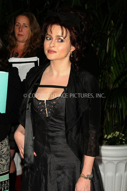 WWW.ACEPIXS.COM . . . . . ....February 25 2011, Los Angeles....Actress Helena Bonham Carter arriving at the QVC Red Carpet Style Party at the Four Seasons Hotel at Beverly Hills on February 25, 2011 in Los Angeles, CA....Please byline: PETER WEST - ACEPIXS.COM....Ace Pictures, Inc:  ..(212) 243-8787 or (646) 679 0430..e-mail: picturedesk@acepixs.com..web: http://www.acepixs.com
