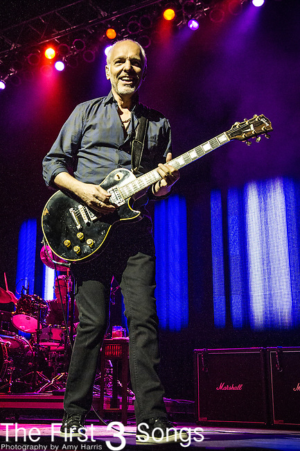 Peter Frampton performs during the Frampton's Guitar Circus at Riverbend Music Center in Cincinnati, Ohio.