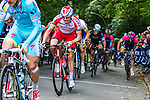 Alexander Kristoff (NOR) of Team Katusha, Vattenfall Cyclassics, Waseberg, Hamburg, Germany, 24 August 2014, Photo by Thomas van Bracht