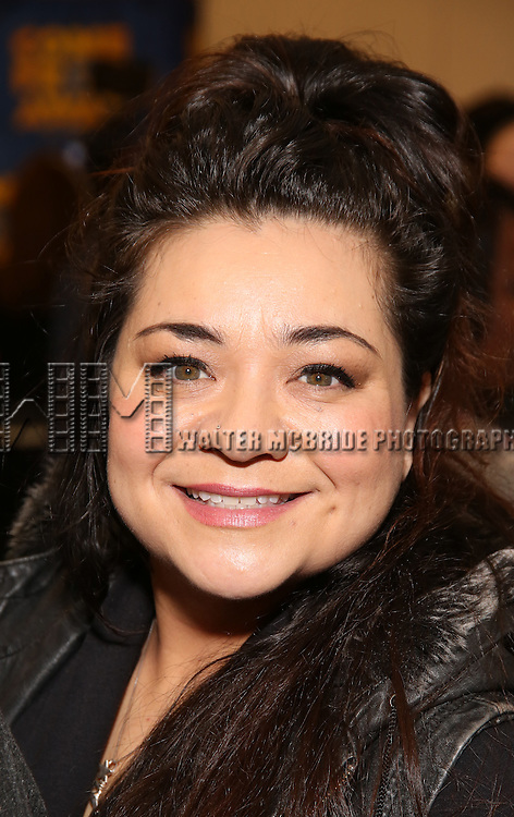 Susan Dunstan attends the press day for Broadway's 'Come From Away' at Manhattan Movement and Arts Center on February 7, 2017 in New York City.