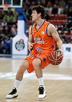 Valencia Basket Club's Rodrigo San Miguel during Spanish Basketball King's Cup match.February 07,2013. (ALTERPHOTOS/Acero) /NortePhoto