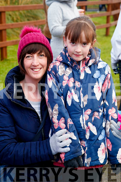 Helena and Alison Bradley, Firies, pictured at the Operation Transformation Walk at Tralee Bay Wetlands on Saturday morning last.