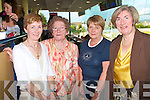 TRACK TIME: Enjoying great fun at the Friends of Kerry General Hospital Night at the Dogs at the Kingdom Greyhound Stadium on Friday l-r: Joan O'Connor, Scartaglin, Chrissie Maunsell, Abbeydorney, Eileen Murphy, Rathmore and Margaret Slattery, Tralee.