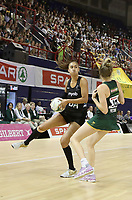 JOHANNESBURG, SOUTH AFRICA - JANUARY 25: Maria Folau of the Silver Ferns in action against the SPAR Proteas during the Netball Quad Series netball match between Spar Proteas and Silver Ferns at the Ellis Park Arena in Johannesburg. Mandatory Photo Credit: ©Reg Caldecott/Michael Bradley Photography
