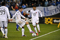 Santino Quaranta, Christian Castillo (12)...Kansas City Wizards defeated D.C Utd 4-0 in their home opener at Community America Ballpark, Kansas City, Kansas.