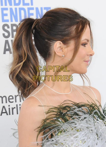 25 February 2017 - Santa Monica, California - Kate Beckinsale. 2017 Film Independent Spirit Awards held held at the Santa Monica Pier.  <br /> CAP/ADM/BT<br /> &copy;BT/ADM/Capital Pictures