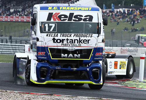 3rd September 2017, Most Racing Track, Most, Czech Republic; FIA European Truck Racing Championship; 3rd race, Shane BRERETON (GB/MAN/Team Brereton)