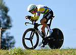 Australian National Champion Rohan Dennis (AUS) BMC Racing Team in action during Stage 16 of the La Vuelta 2018, an individual time trial running 32km from Santillana del Mar to Torrelavega, Spain. 11th September 2018.                    Picture: Colin Flockton | Cyclefile<br /> <br /> <br /> All photos usage must carry mandatory copyright credit (&copy; Cyclefile | Colin Flockton)