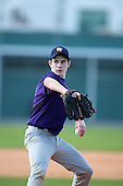 December 28, 2009:  Jordan Donaldson (2) of the Baseball Factory Tigers team during the Pirate City Baseball Camp & Tournament at Pirate City in Bradenton, Florida.  (Copyright Mike Janes Photography)