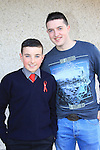Bradley Hannah and Sponsor Niall Cooney.Donacarney Confirmation 2013.Picture: Fran Caffrey www.newsfile.ie.