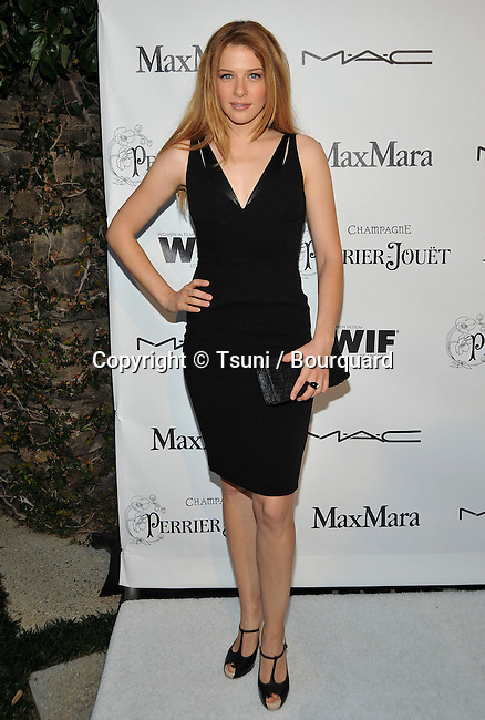 Rachelle LeFevre _15   -<br /> Women In Film - WIF -Pre Oscars Cocktail Party at Peter and Tara Guber Residence In Bel Air - Los Angeles.
