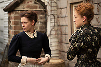 Chlo&euml; Sevigny &amp; Kristen Stewart.<br /> Lizzie (2018) <br /> *Filmstill - Editorial Use Only*<br /> CAP/RFS<br /> Image supplied by Capital Pictures