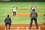 (L to R) <br />   Caroline Kennedy, <br /> Sadaharu Oh, <br /> NOVEMBER 14, 2014 - Baseball : <br /> 2014 All Star Series Game 2 <br /> between Japan and MLB All Stars <br /> at Tokyo Dome in Tokyo, Japan. <br /> (Photo by YUTAKA/AFLO SPORT)[1040]